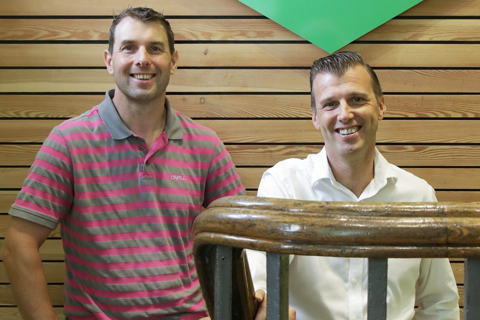 Marcus Sutcliffe and Jason Bowker of Elite Systems