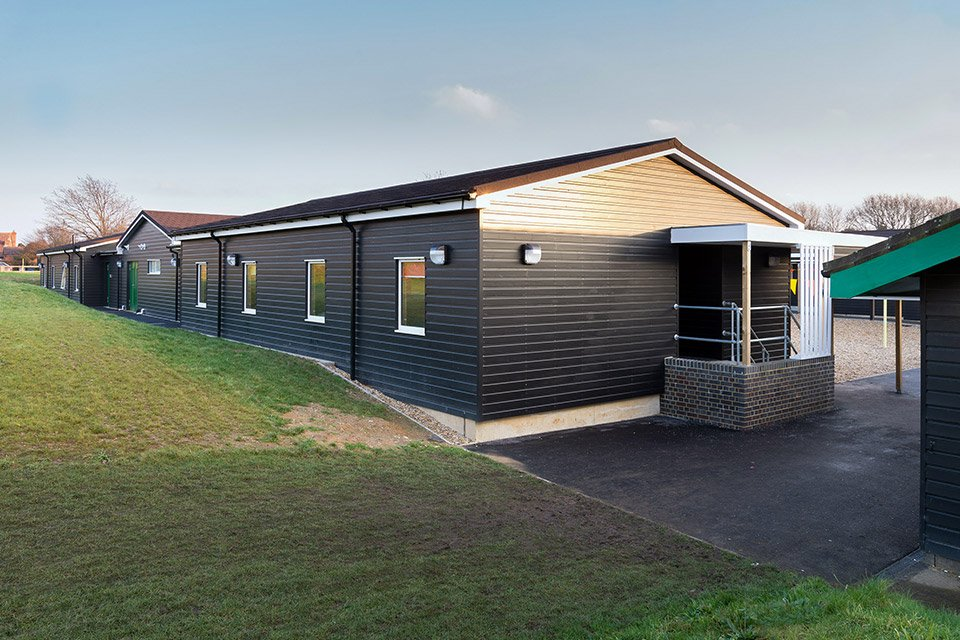 Stubbington modular building