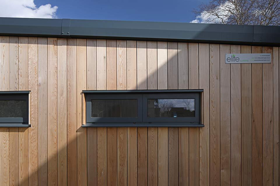 Hamford primary academy exterior window