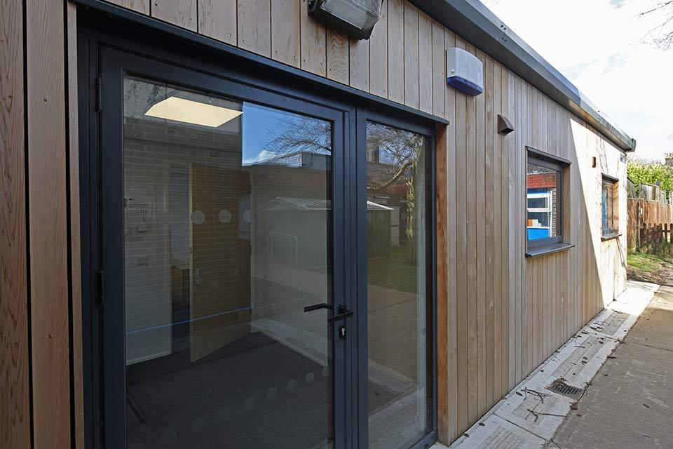 Hamford primary academy exterior door