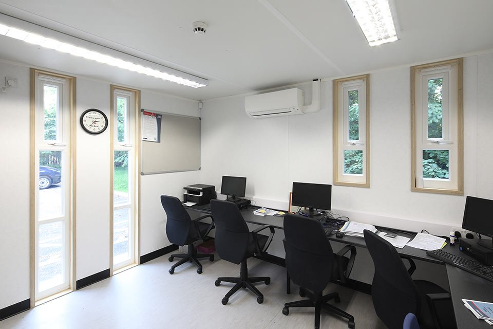 Knutsford NWRFCA interior office