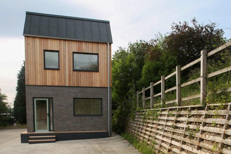 Modular house showhouse exterior