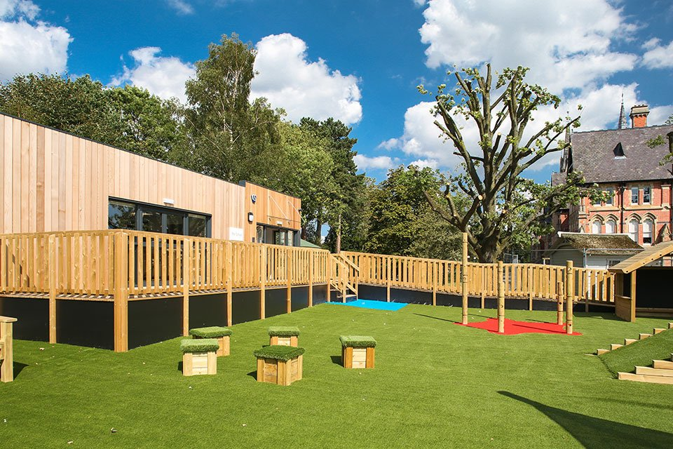 Cheadle Hulme School, modular reception classroom